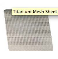 Titanium Mesh Sheet 40x60x0.1 mm (1pcs)