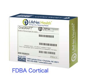 Oragraft FDBA Cortical 1.2cc