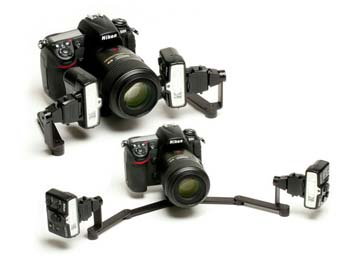 PhotoMed R2 Dual Point Flash Bracket for Nikon