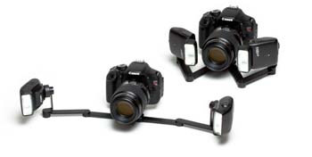PhotoMed R2 Dual Point Flash Bracket for Canon