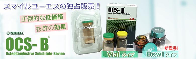 【OCS-B特集】骨補填材料 : 歯科材料の輸入通販:スマイルUS